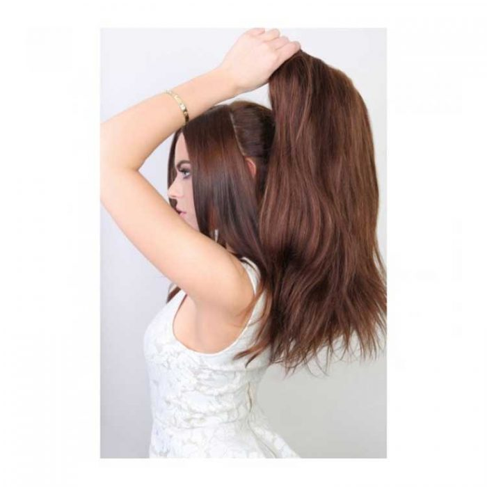 beauty works half head wig