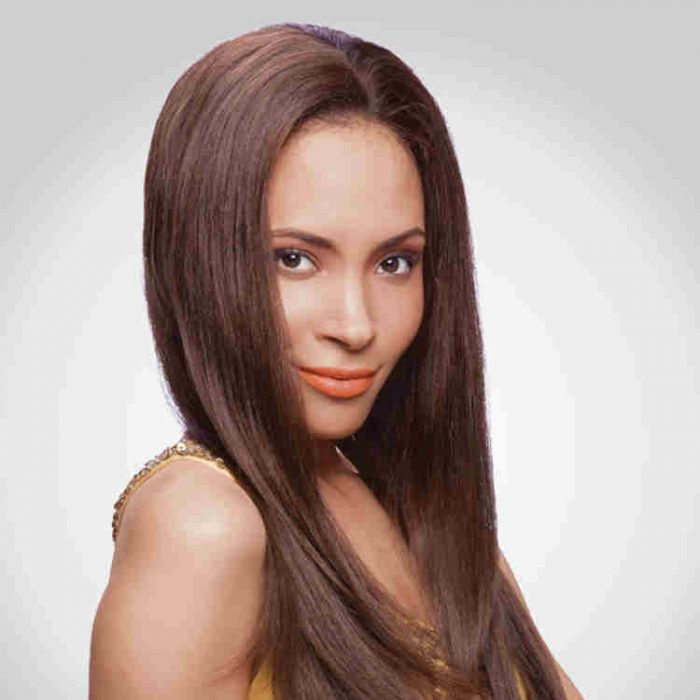 human hair lace front wig