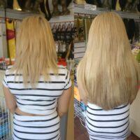 Long hair extensions Dorset