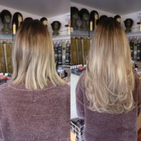 Hair extensions natural and undetectable